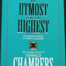 My Utmost For His Highest - Christian religion religious book Oswald Chambers