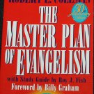 The Master Plan of Evangelism book by Robert E. Colemean - Christian religious reading paperback