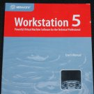 Workstation 5 computer book - machine software tech technical professional vmware instruction how-to