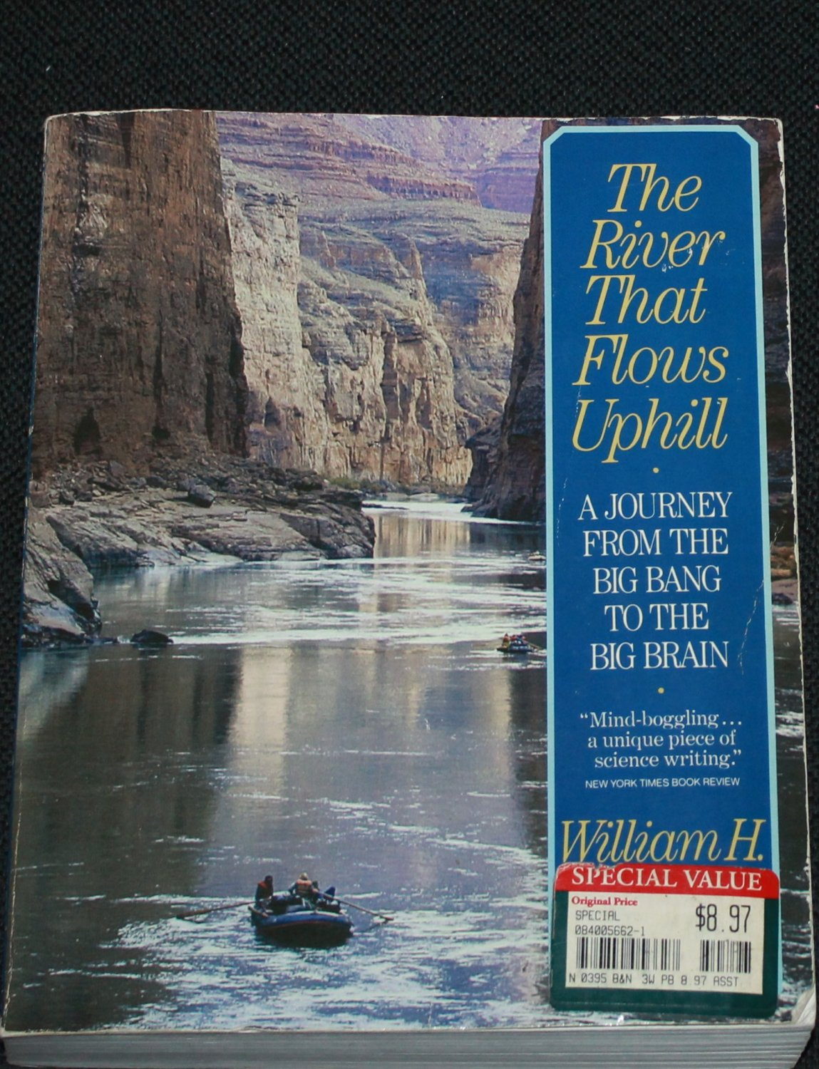 The River That Flows Uphill by William H. Calvin - book outdoors travel wilderness nature