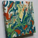 Home or Business Decor Art - marbled abstract painting - green home interior decorating