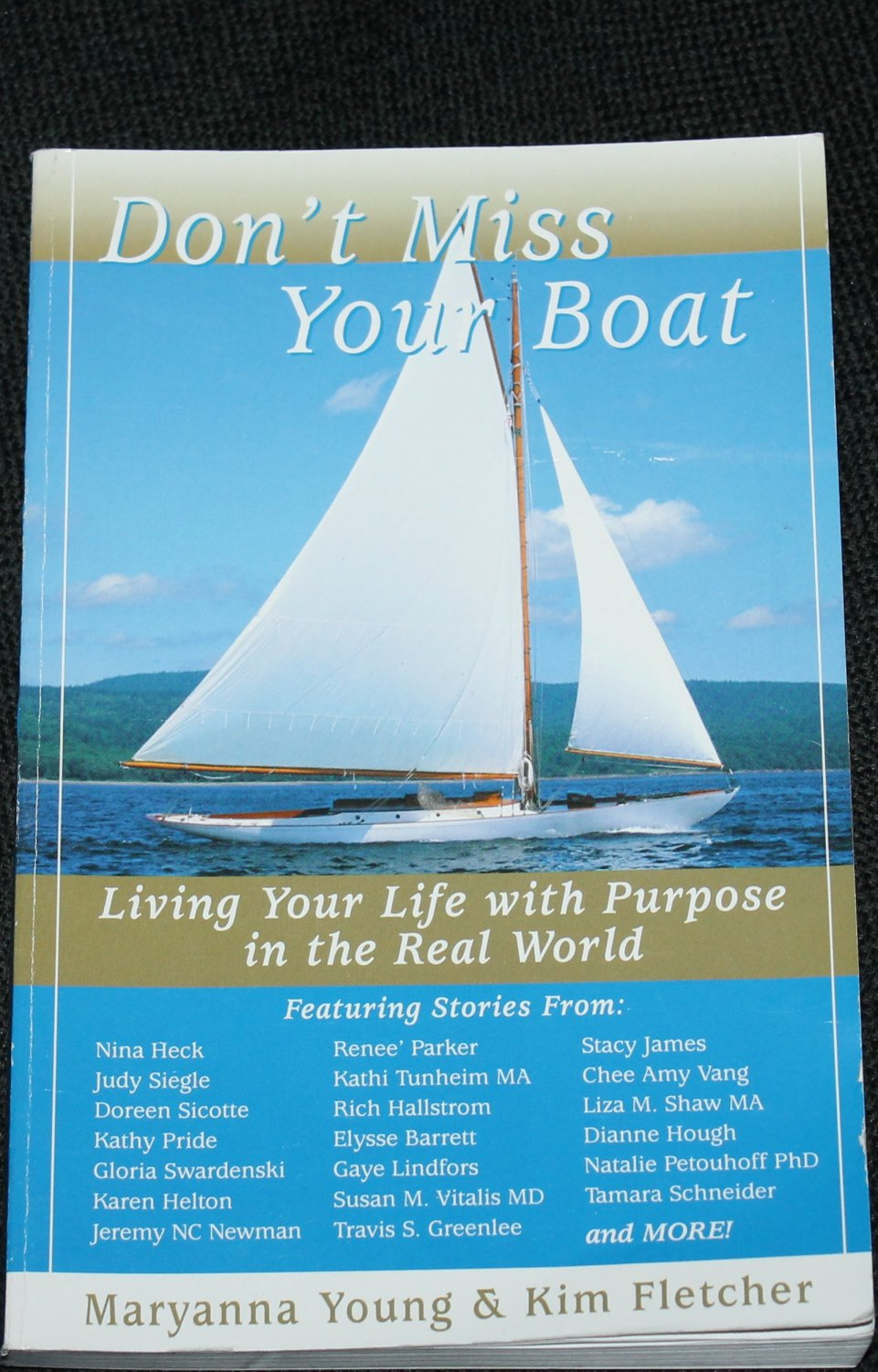 Don't Miss Your Boat - Christian religious book - religious reading