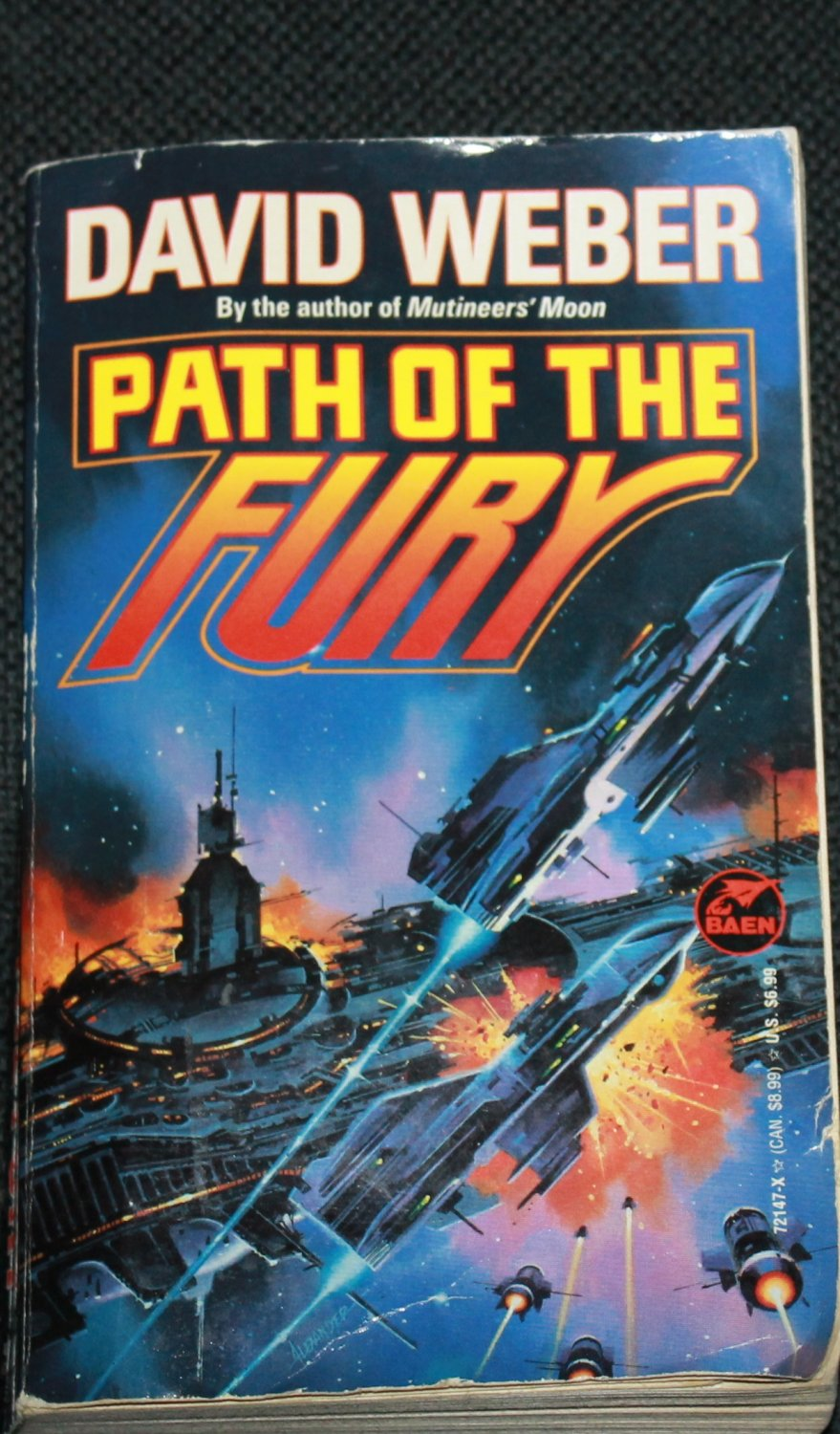 Path of the Fury science fiction book by David Weber