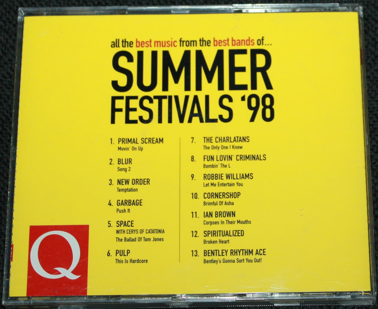 Summer Festivals 98 - music CD