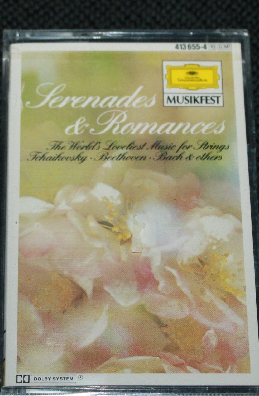 Serenades and Romances The World's Lovliest Music for Strings - music cassette tape