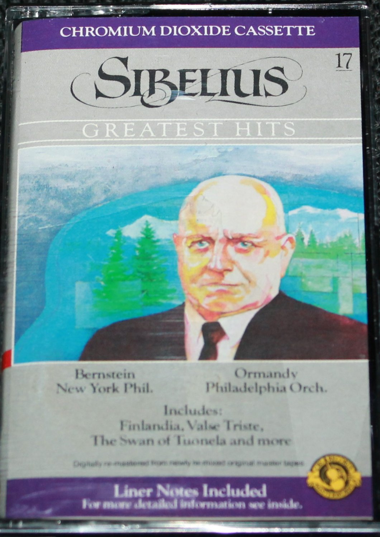 Sibellius Greatest Hits - Bernstein Ormandy - classical music cassette tape
