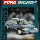 Ford Escort and Mercury Linx 1981 - 1986 Repair Manual - car auto book