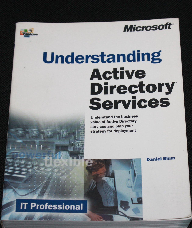 Understanding Active Directory Services book