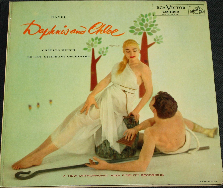 Daphnis and Chloe record - Charles Munch Boston Symphony Orchestra