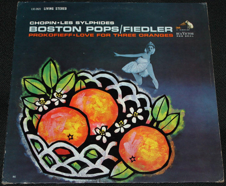 Chopin Les Sylphides Boston Pops/Fielder Prokofieff Love For Three Oranges