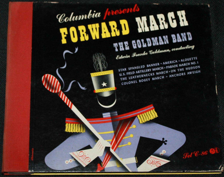 Forward March The Goldman Band - Record Set