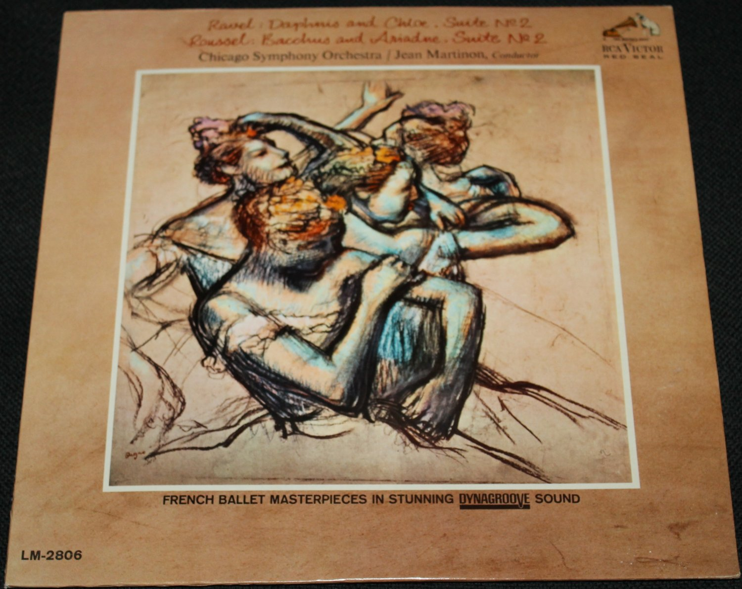Ravel Daphnis and Chloe Roussel Bachus and Ariadne - Chicago Symphony Orchestra Jean Martinon