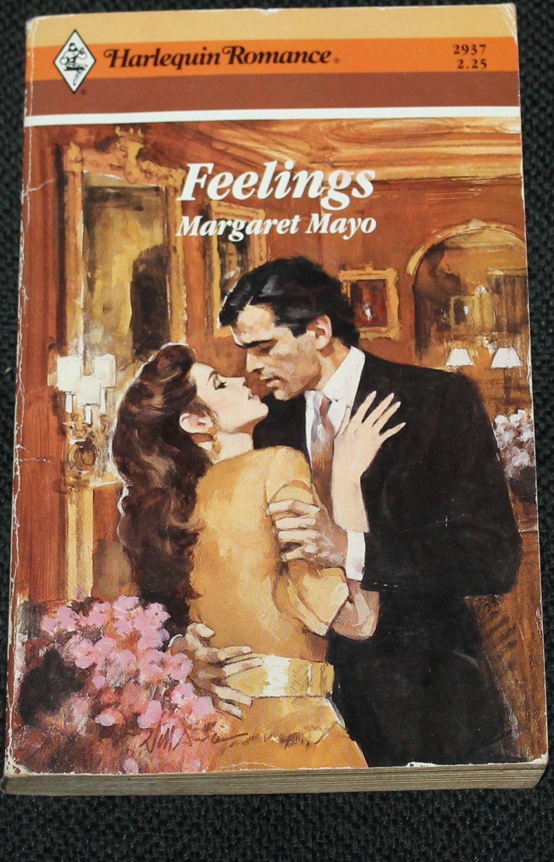 Feelings - romance paperback book by Margaret Mayo