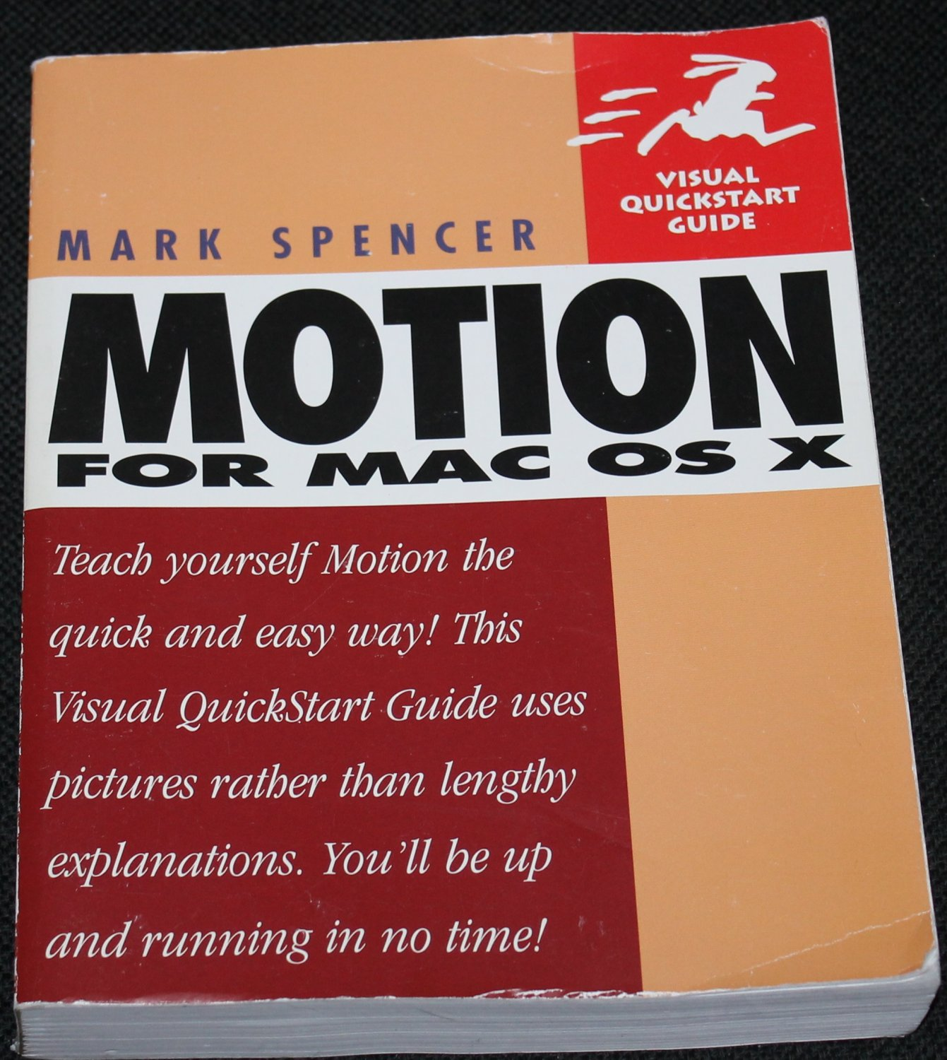 Motion for Mac OS X by Mark Spencer - computer book