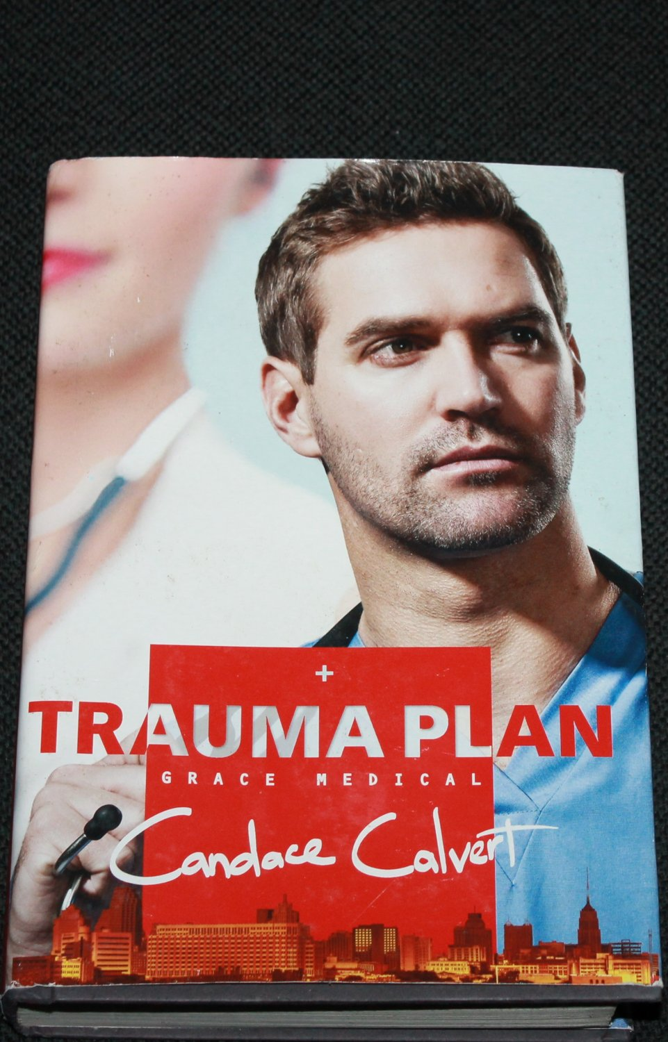 Trauma Plan (Grace Medical) - romance novel by Candice Calvert paperback book