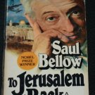 To Jerusalem and Back paperback book