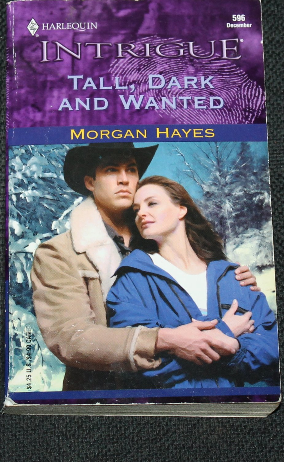 Tall Dark And Wanted romance paperback Morgan Hayes