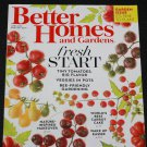 Better Homes and Gardens magazine April 2016