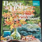Better Homes and Gardens magazine October 2013