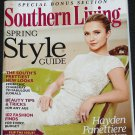 Southern Living Spring Style Guide magazine March 2014 Vol. 49 No.3