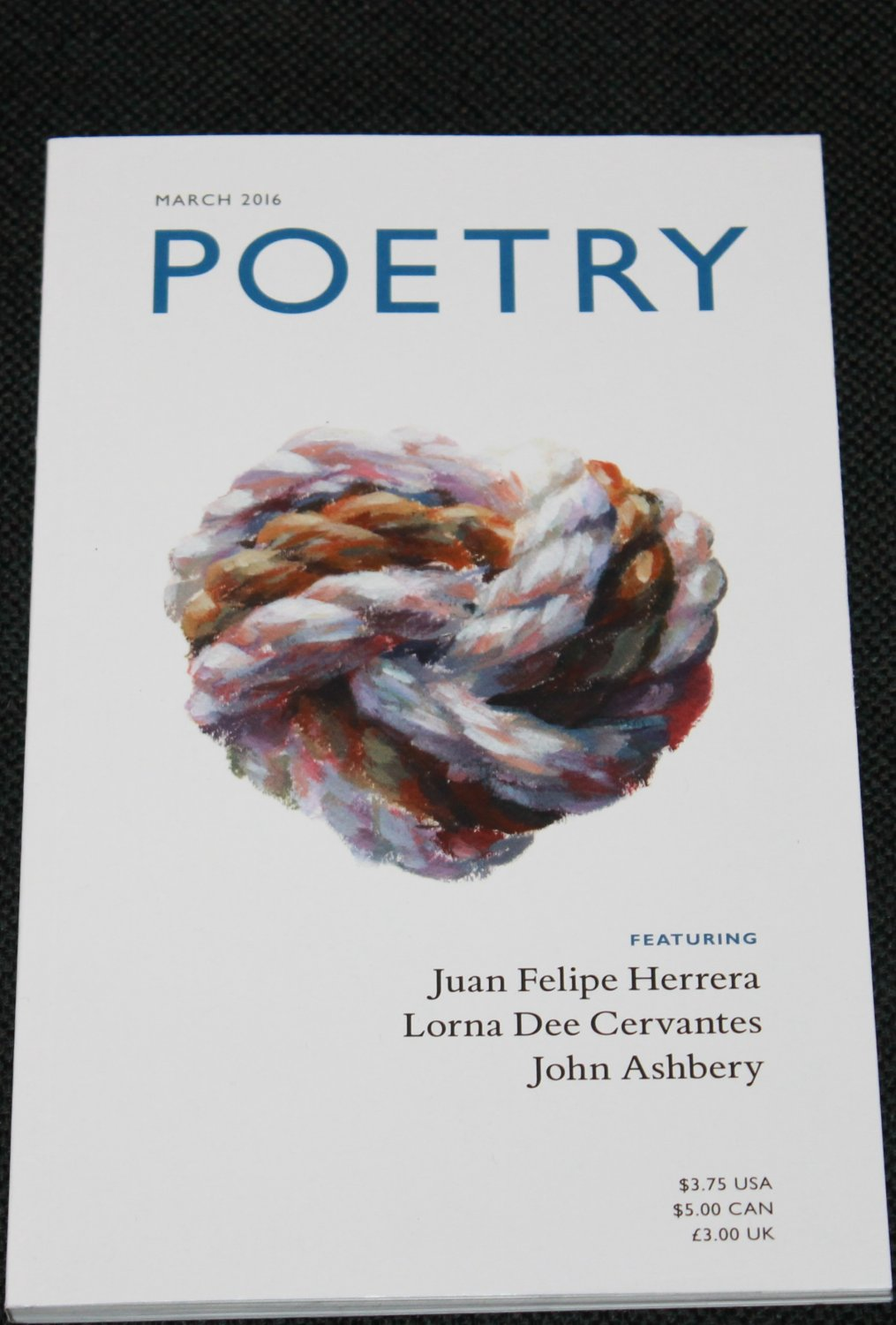 Poetry March 2016