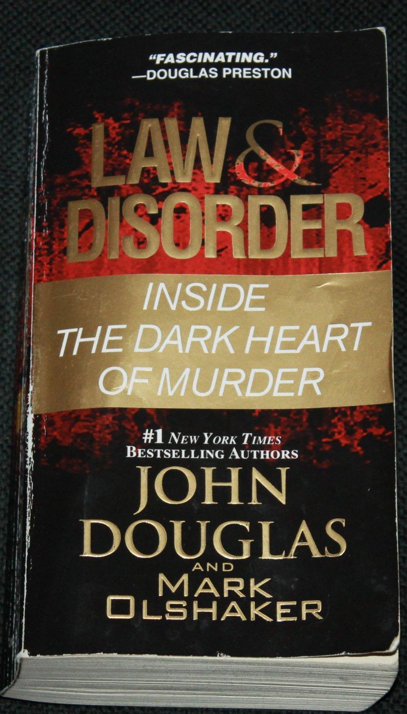 Law & Disorder by John Douglas true crime paperback