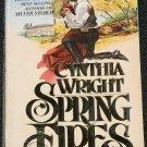 Spring Fires romance novel papaerback book
