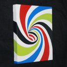 Vortex Pin Wheel Swirl Painting - art