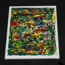 Abstract Painting - Palette Knife on Canvas - Modern Art