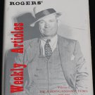 Will Rogers' Weekly Articles