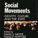 Social Movements Identity, Culture, And The State