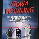 Storm Warning Christian book by Don Mcalvany