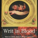 Writ In Blood horror book James A. Moore