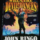 When the Devil Dances sci-fi action book