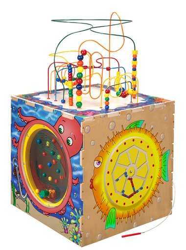 Sea Life Play Cube SPC6004 fun & realistic waiting room or play area