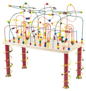 Anatex Jungle Rollercoaster Table for large groups of children