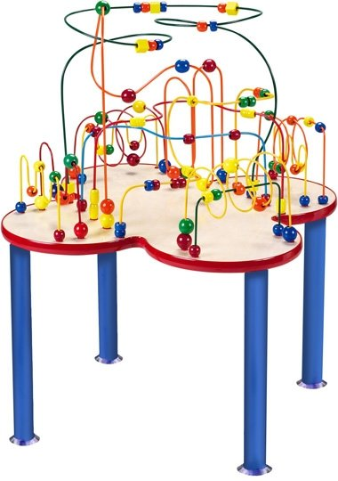 Fleur Rollercoaster Table wonderful activity center for homes, schools, waiting rooms