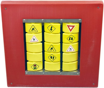 Anatex Busy Cube - Traffic Memory Wall Panel great addition to any home, school, office
