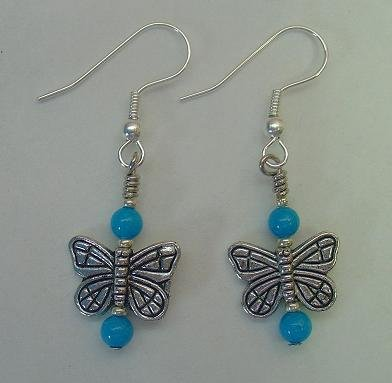 TURQUOISE MOUNTAIN JADE~ BUTTERFLY