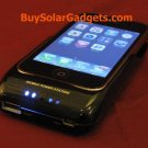 Surge Hybrid Solar Charger for iPhone 3G 3GS Black