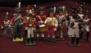 Reeves International Vintage Toy Soldiers Lot of 17