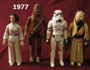 Star War Figure Lot 1977 1978 1980 1981 1982 1983 1984