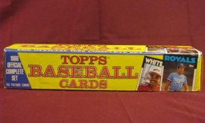 1986 Topps Baseball Cards Complete Set