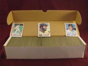 1982 Topps Baseball Cards Complete Set