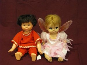 Ideal Tommy and Vogue Star Bright Doll Bundle
