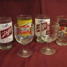Vintage Hamms, Schlitz, Coors, Miller Beer Glass Lot