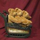 Artist Lillian Hahn Presents Mohair 3 Bear Bears Bundle