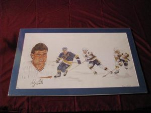 Adam Oates Signed Lithograph