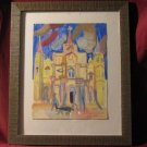 New Orleans Catherdral folk art painted by David Baum