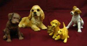 Lenox Dog Figurines Set of Four